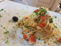 Spaghetto al baccalà
