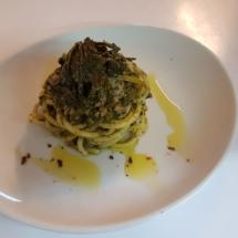 Spaghettone con salsiccia di cinta e cime di rapa2