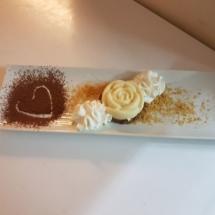 rosa di mouse ai cioccolati