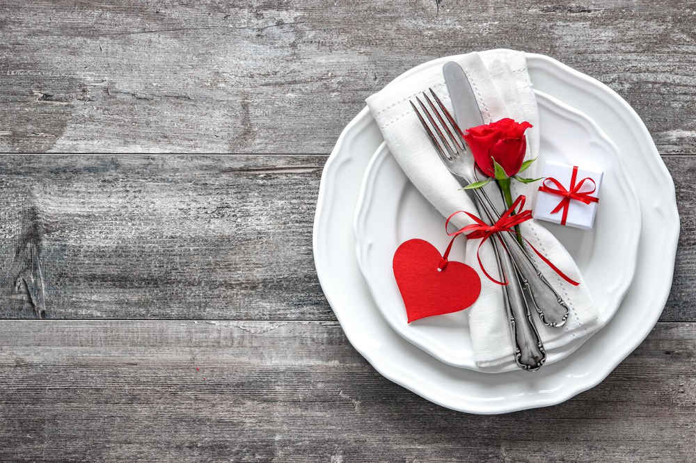 Cena romantica San Valentino 2019